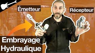 Embrayage Hydraulique: changer Emetteur Récepteur et PURGE ! 💦