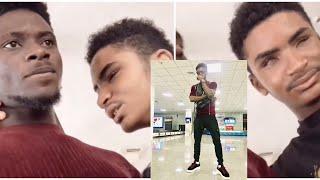 Blind Talented singer in Liberia shocks Kuami Eugene with his vocals | Entamoty Live