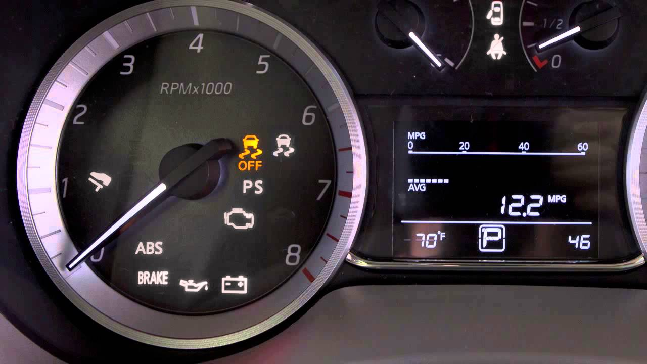 Nissan Altima: Vehicle Dynamic Control(VDC) OFF indicator light