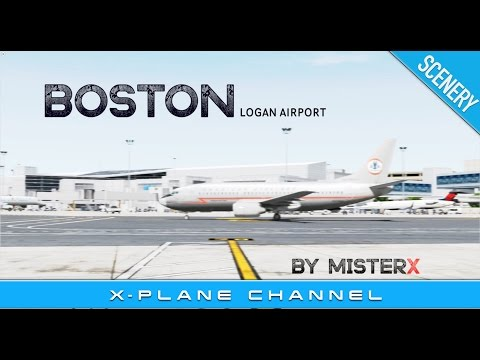 The best DONATIONWARE AIRPORT [for X-Plane 10]  Boston Logan Airport