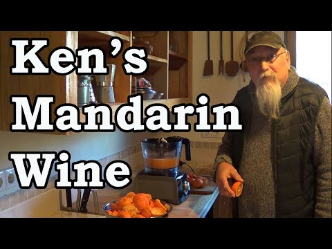 Living in Turkey, Ken' s Home Made Mandarin Wine