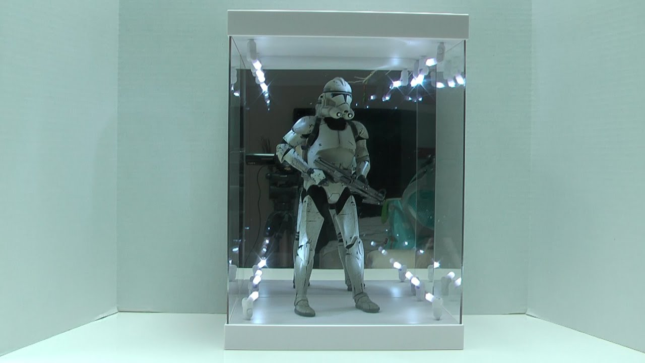 Legend Studios Master Light 1 6 Action Figure Display Case