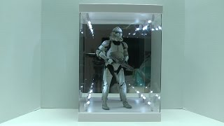 Legend Studios Master Light 1/6 Action Figure Display Case Review By Movie Figures