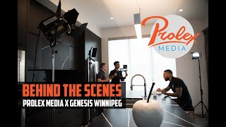 Behind The Scenes with Prolex Media & Genesis Winnipeg
