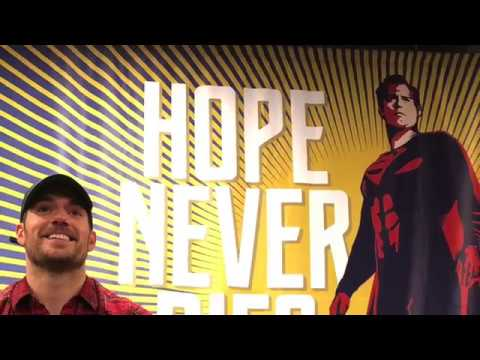 Henry Cavill interviews at Ace Comic Con by DC World Paul Edwards