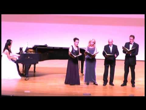 4x4tet - Johannes Brahms -