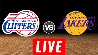 NBA LIVE | Los Angeles Clippers vs Los Angeles Lakers LIVE Stream Reactions