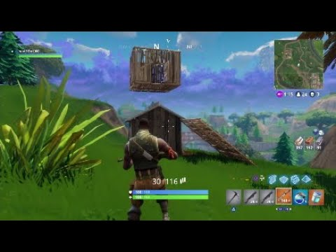 HOW TO BUILD A FLOATING BASE *in* Fortnite Battle Royale