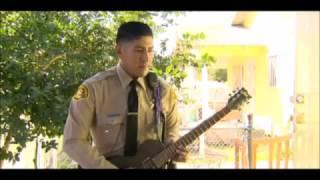 Sheriff jams w/ metal band in Compton, CA - Mastodon's Brann tribute to grandma