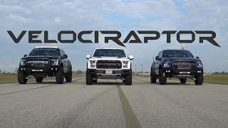 Hennessey VelociRaptor Ford Raptor Trucks in Action