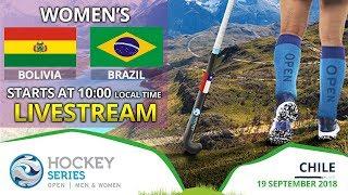 Bolivia v Brazil   2018 Women's Hockey Series Open   FULL MATCH LIVESTREAM
