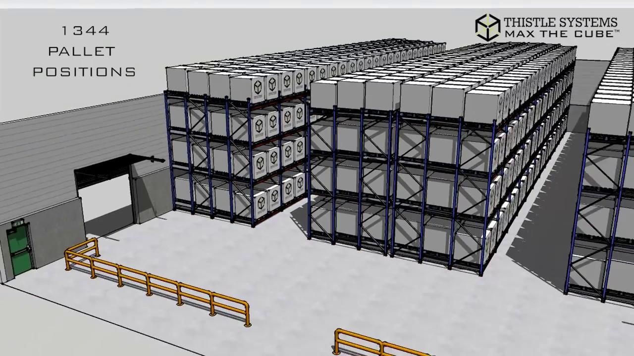 Pallet Storage Rates | Pallet Storage Costs UK | Thistle Systems