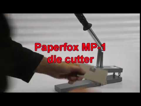 Paperfox MP-1 paper punch with interchangable tools