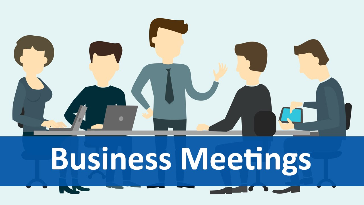 common expressions 6 business meetings english listening