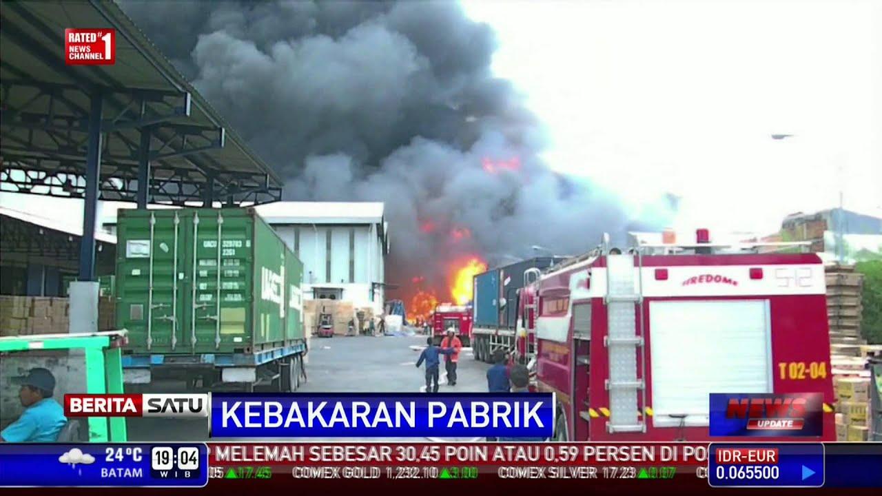 Pabrik Minyak Goreng Di Bekasi Terbakar Youtube