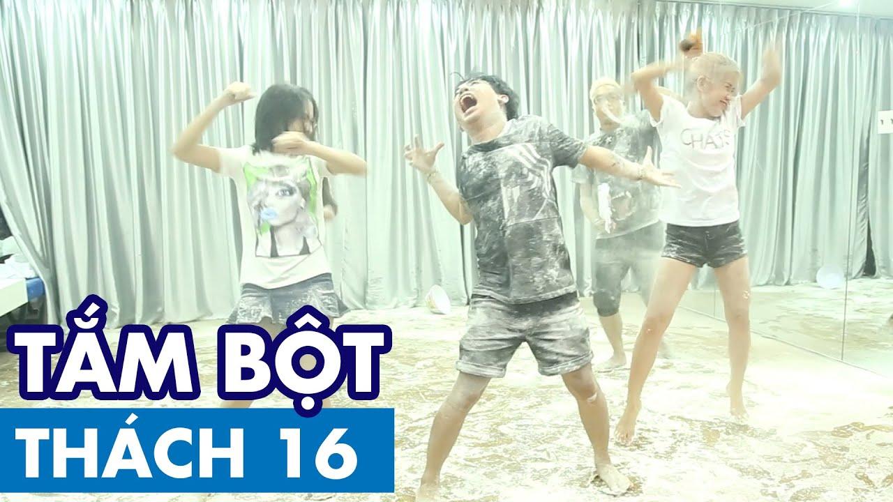 THÁCH 16 | TẮM BỘT (Phở, Thảo, Ginô Tống, Lục Anh & Hòa Minzy) | GameShow Hài Hước Việt Nam