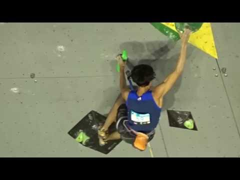 2016 Lead Climbing World cup Briancon : Meichi Narasaki