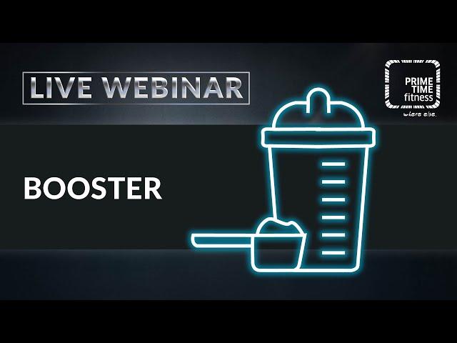 Alles rund um Trainings-Booster (live Webinar)