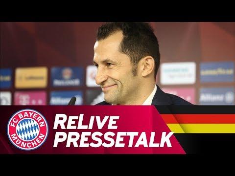 ReLive | FC Bayern-Pressetalk mit Hasan Salihamidžić