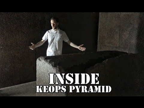 Exploring Inside the Keops Pyramid - El Cairo - Egypt