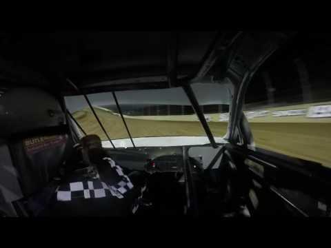 Lawrenceburg Speedway 4-1-17 Hornet Feature Josh Hammond In-Car