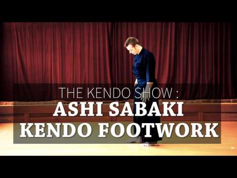 Kendo Basics : Kendo Footwork (Ashi Sabaki) - The Kendo Show