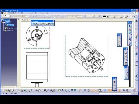 Breakout View Catia V5 Drafting Quick Amp Basic All