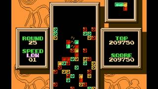 Tetris 2 - Gameplay - Rounds 21-30 - User video
