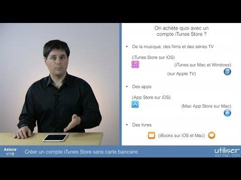 Astuce 18 - Créer Un Compte ITunes Store Sans Carte Bancaire