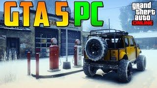 GTA 5 PARA PC!! PRIMERAS IMÁGENES FILTRADAS! - Gameplay GTA 5 Online PS4