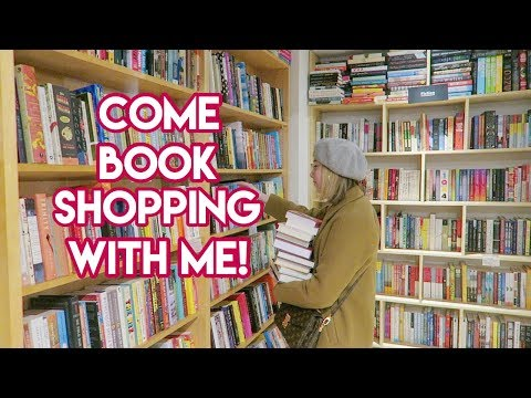 Come Book Shopping With Me In NYC + BIG Book Haul!