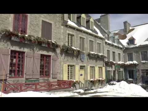 Old Quebec city, first north american city