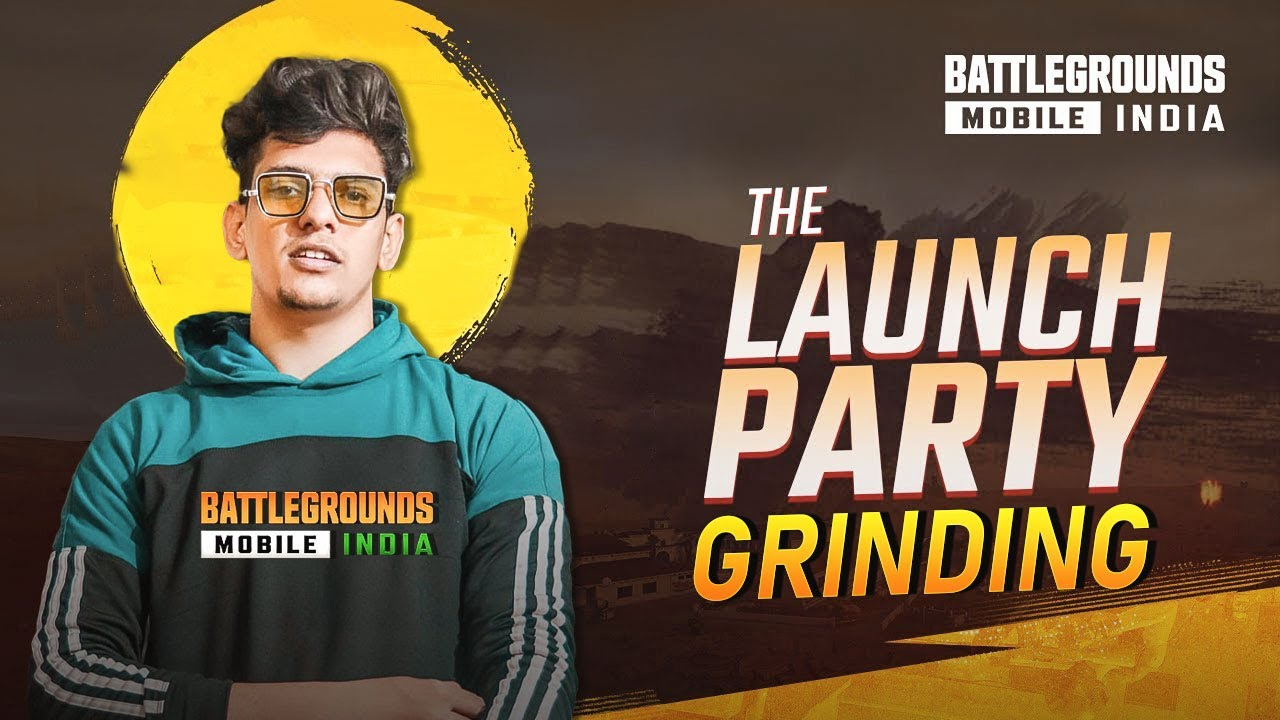 ?? BGMI LAUNCH PARTY GRINDING - NEW LINEUP IN BATTLEGROUNDS MOBILE INDIA