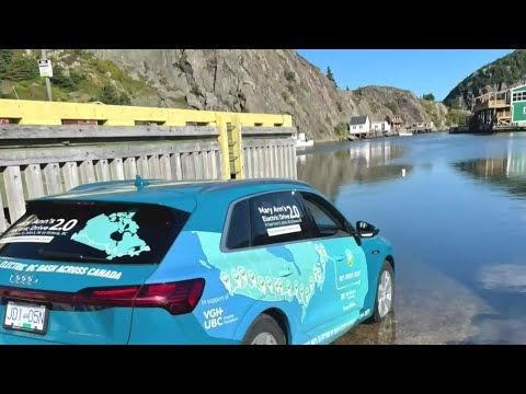 Electrifying journey: Cross-Canada drive in under 5 days