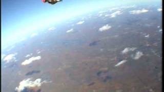 Jerry goes skydiving!