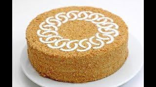 видео Медовый торт в домашних условиях