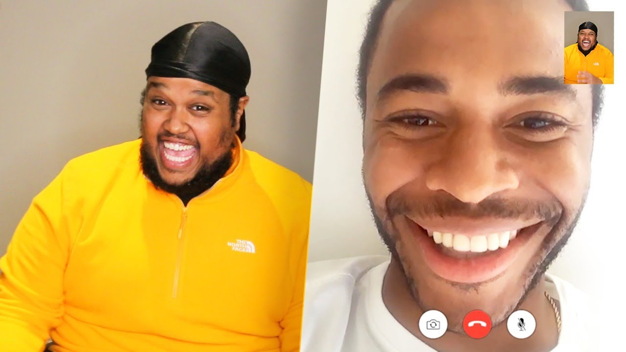 Pranking Famous Footballers On FaceTime
