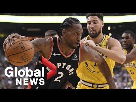 Toronto Raptors talk Golden State Warriors ahead of NBA Finals