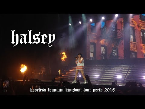 HALSEY / Hopeless Fountain Kingdom Tour / Perth WA 2018