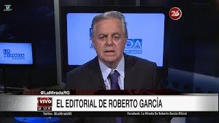 """Comentario editorial de Roberto García en su programa """"La mirada"""" - 09/10/17"""