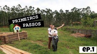 PRIMEIROS PASSOS PARA CONSTRUÇÃO ♥ Construindo nossa casa própria - Nosso sonho ♥ Greice Brigido