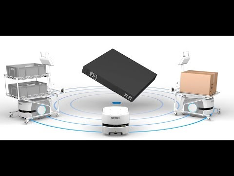 Fleet management for mobile robots: Omron Enterprise Manager