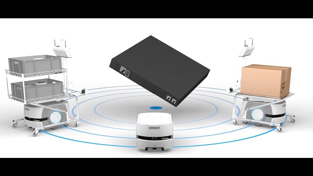 Fleet management for mobile robots: Omron Enterprise Manager