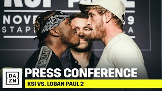 KSI vs. Logan Paul 2: Final Press Conference Stream