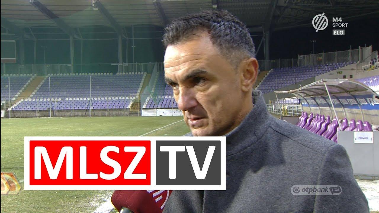 Edzői értékelés az Újpest FC - Balmaz Kamilla Gyógyfürdő mérkőzésen