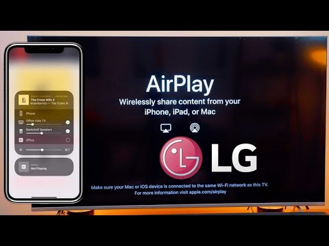 How to Use Apply AirPlay on LG TV