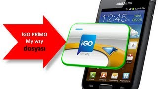 Play > Tutorial: How install iGO My Way + Primo ANDROID + DOWNLOAD