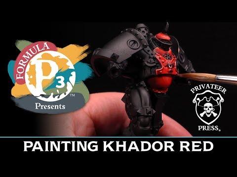 Formula P3 Presents: Painting Khador Red