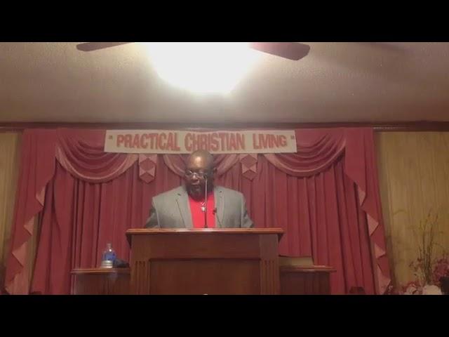 Sunday's Sermon November 1, 2020 Bro. John T. Somerville