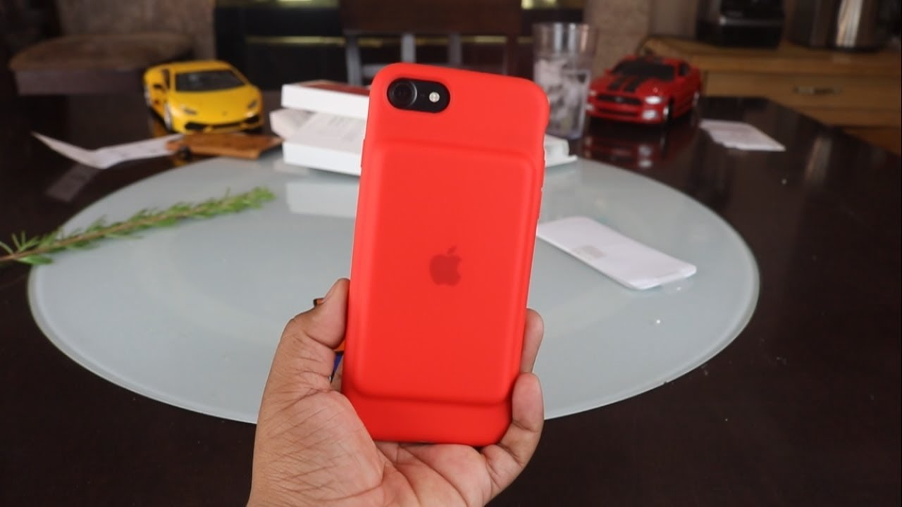 premium selection 68194 8c560 Smart Battery Case for iPhone 7 (PRODUCT RED) Unboxing